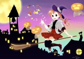 Halloween Witch by eclie
