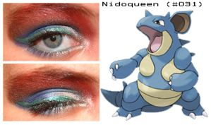 Pokemakeup 031 Nidoqueen by nazzara