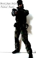 Metal Gear Solid 3 - Naked Snake Custom Figure by SomethingGerman