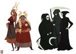 Valkyries and Reapers by FionaCreates