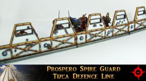 Prospero Spire Guard Defence Line by Proiteus