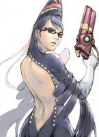 bayonetta by 13th-clown