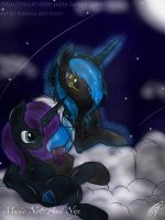 Nyx and Music Note #145 by AdamIrvine