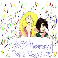 Sinful Prayer Anniversary by KadenDragon