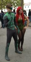 Green Lanter and Poison Ivy Cosplay by Maspez
