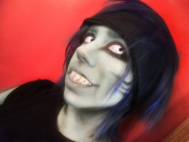 Kisame MakeUp Test by Feicoon