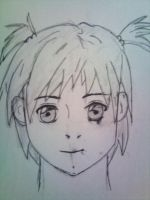 Innocence, Manga Face Female by Stone-Cold-Stone