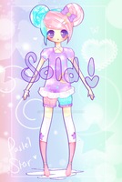 Pastel Star ADOPTABLE -- x --[ ClOSED ] by Pyo-Chuu