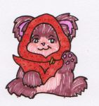 I adopted an Ewok #1 by Cosmic-Psycho