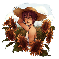 Sunflower Rin by firamint