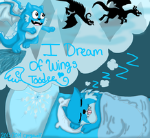 I dream of wings by cyngawolf
