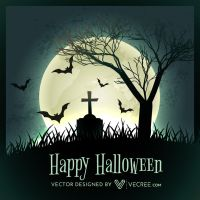 Halloween Art Free Vector by vecree