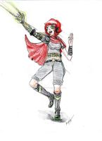 Cyborg arm Zoey by doodlesmcyoung