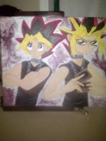 Yugi and Yami by StarClipse