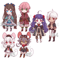 RPG themed adopt batch 1 (CLOSED) by Kaiet