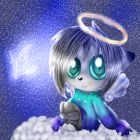 CG(2013) Angel and butterfly by lifegiving