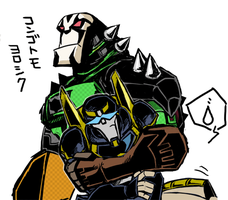 lockdown and prowl by kouno-B