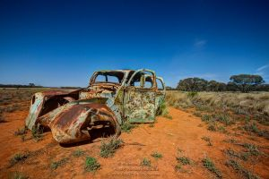Outback Wreck by FireflyPhotosAust