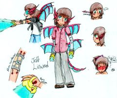 Character Sheet: Joff Linwood by Aione-chan