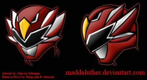 Sentai sample helm 001 by maddaluther