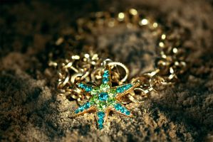 Starfish Necklace by Delahkel