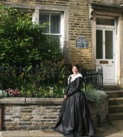1840s Mourning gown by Abigial709b