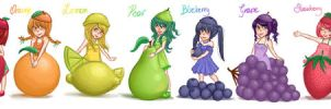 fruits by hirumy