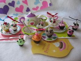 Cupcake Tea Party by MandaBeads