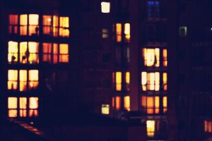 night windows by MaithaNeyadi