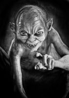 Gollum by Missy-Sparrow