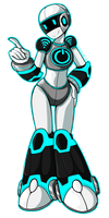 Cyberwoman by TechnologicTea