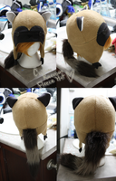 +FleeceHat:Custom+ Raccoon for ifyouareinthemood. by Stephys-Adoptables
