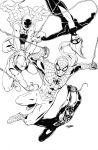 Spider Family Inks by DRMoore