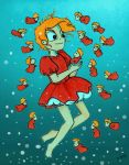 Ponyo and her little sisters by jimmyoOO