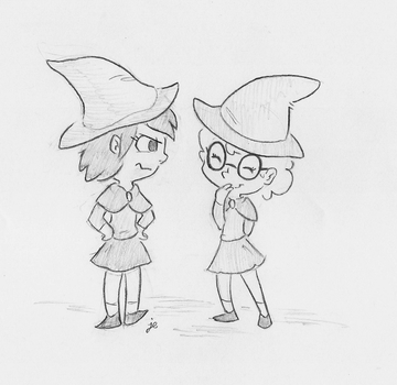 Witches for Bakertoons by swiftcutter