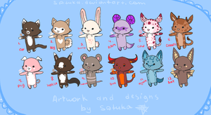 Animal adopts OPEN by Satuka