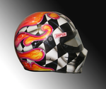 sponsor Racing helmet by chrisfurguson