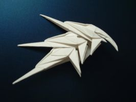 Origami: Cool Helmet by rfwu