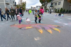 2014 Monster Bash, Chalk Art 6 by Miss-Tbones