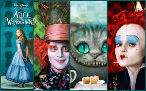 Alice in wonderland by chochopain