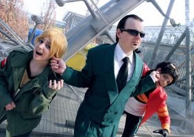 Generator Rex - brats are in trouble by Knorke-chan