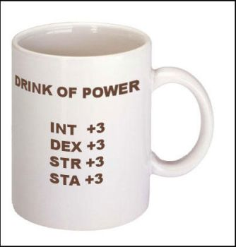 drink of power mug by Icy-Flame