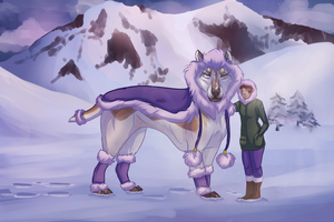 Rite of Fortitude: Winter Coat by Kieath