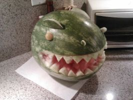 My Watermelon is a DIONOSAUUUR by starbuxx