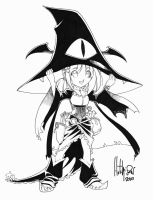 Halloween Girl - Witch by Dhutchison