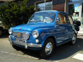 1961 Fiat 600 D by GladiatorRomanus