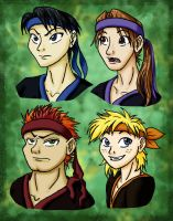 TMNT-H Profiles by mystryl-shada