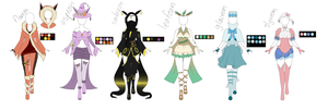 Pokemon outfits #8 by CCBCupcakebomb