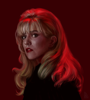 Laura Palmer speedpaint by AnnikeAndrews