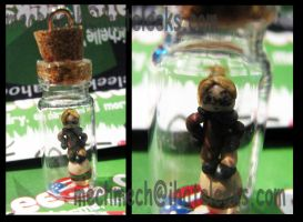 America Bottle Charm by colormedisturbed